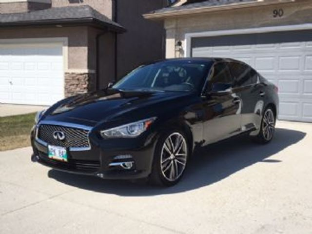 2015 Infiniti Q50 4dr Sdn AWD in Mississauga, Ontario