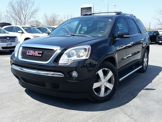2010 GMC ACADIA SLT-AWD-8 PASSENGER--LEATHER-ROOF in Belleville, Ontario