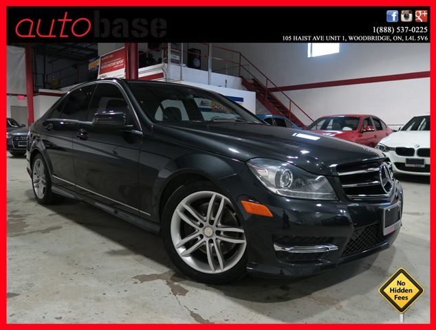 2014 mercedes benz c class c300 4matic navigation xenon for Average insurance cost for mercedes benz c300