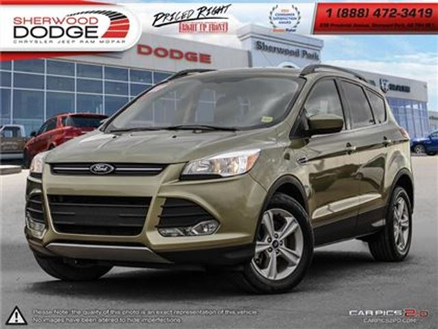 2014 FORD ESCAPE SE AWD  BACKUP CAMERA   BLUETOOTH in Sherwood Park, Alberta