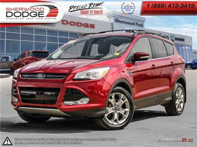 2013 FORD ESCAPE SEL AWD HEATED LEATHER  BLUETOOTH   NAV   ECOBOOST in Sherwood Park, Alberta