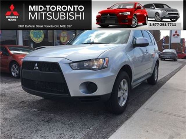 2011 MITSUBISHI OUTLANDER ES *local trade in in Toronto, Ontario