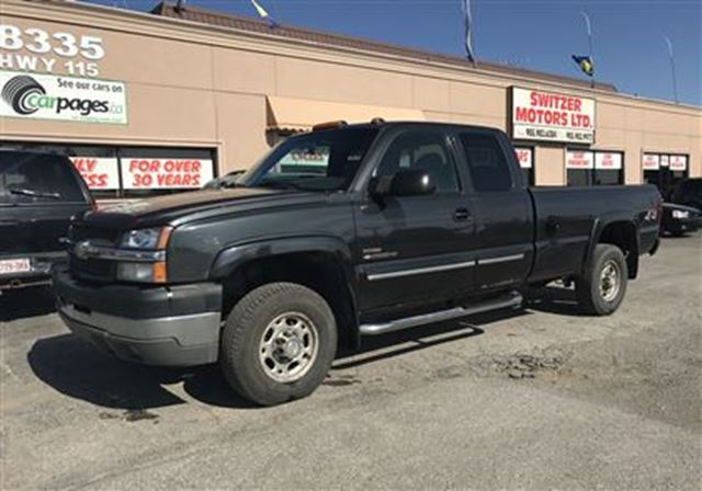 2004 Chevrolet Silverado 2500  DURAMAX DIESEL...ALLISON 5 SPEED...1 OWNER in Orono, Ontario