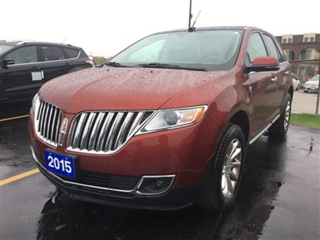 2015 Lincoln MKX AWD  LEATHER  SUNROOF  GPS  HEATED SEATS in Waterloo, Ontario