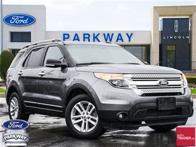 2014 Ford Explorer XLT 4WD  LEATHER  GPS  BLUETOOTH  7 SEATS in Waterloo, Ontario