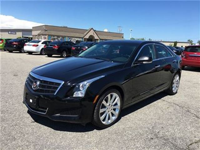 2013 CADILLAC ATS Luxury/CARPROOF CLEAN/NAV/BACKUP CAM/LEATHER in Fonthill, Ontario