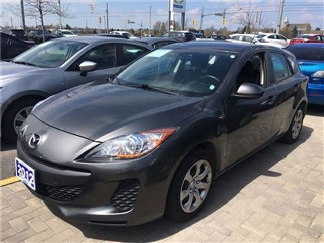 2012 MAZDA MAZDA3 SPORT GX A/C - GREAT FUEL ECONOMY!! in Barrie, Ontario
