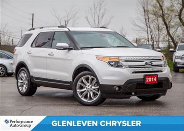 2014 Ford Explorer Just Arrived...Limited   NAV   PANO ROOF   TECH PK in Oakville, Ontario
