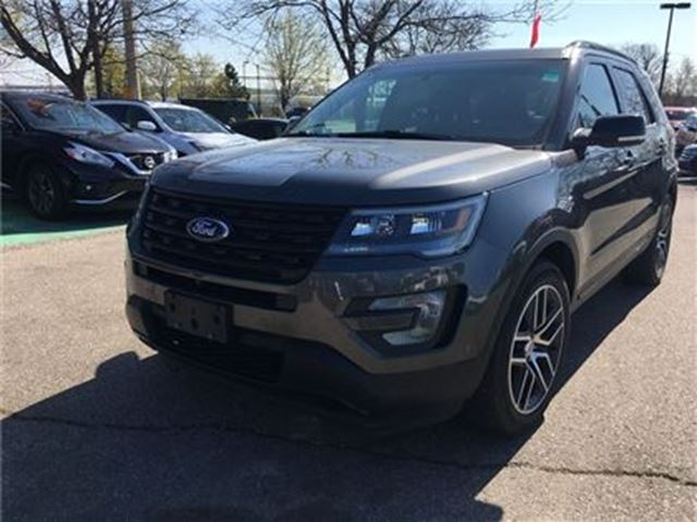 2016 Ford Explorer SPORT,LEATER,NAVIGATION,SUNROOF in Mississauga, Ontario
