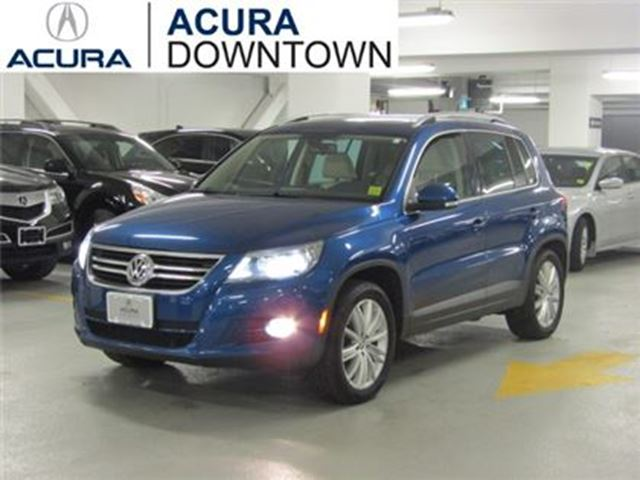 2009 Volkswagen Tiguan Highline/No Accident/Low KMs/Leather in Toronto, Ontario
