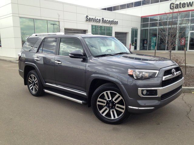 2016 TOYOTA 4RUNNER Limited 7 Passenger, Navi, Backup Cam, Heated/Cooled Leather Seats in Edmonton, Alberta