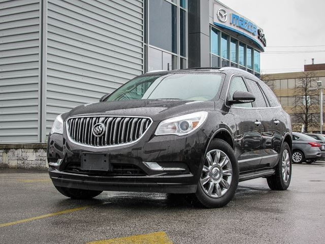 used 2014 buick enclave premium awd toronto. Black Bedroom Furniture Sets. Home Design Ideas