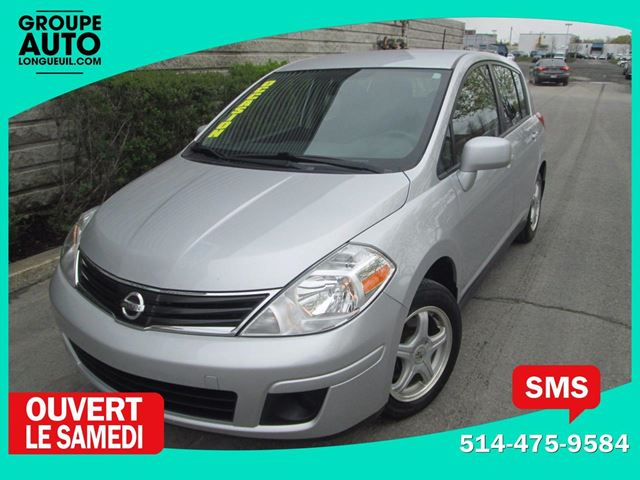 2012 Nissan Versa 1.8 S*AUTO*A/C*61KM* in Longueuil, Quebec