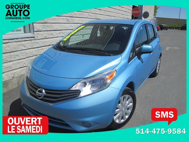 2014 Nissan Versa SV*AUTO*A/C*5PORTES* in Longueuil, Quebec