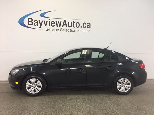 2013 Chevrolet Cruze LS- AUTO! 1.8L! A/C! ON STAR! LOW KM! GAS BUDDY! in Belleville, Ontario