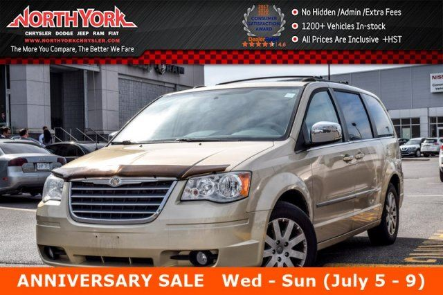 2010 Chrysler Town and Country Touring 7Seats RearDVD Sunroof RearCam Bluetooth 17Alloys  in Thornhill, Ontario