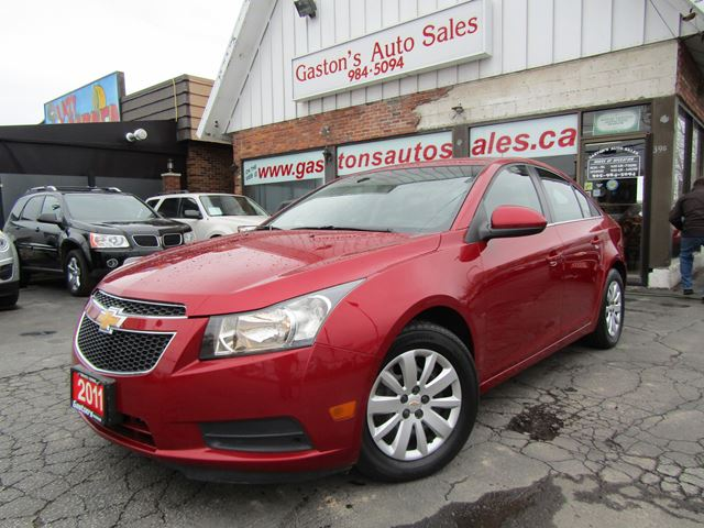 2011 Chevrolet Cruze HOT COLOUR! in St Catharines, Ontario