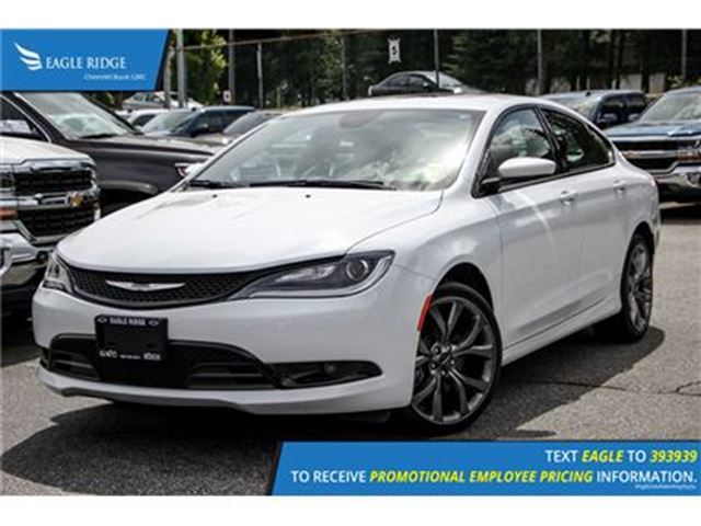 2016 CHRYSLER 200 S Navigation, Sunroof, and Heated Seats Navigation in Coquitlam, British Columbia