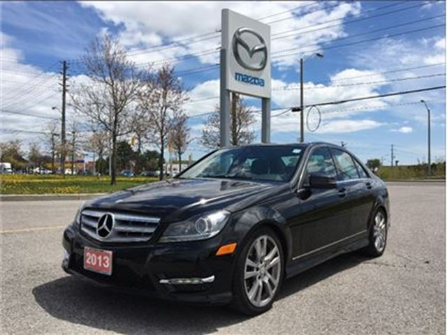 2013 MERCEDES-BENZ C-CLASS C 350 4MATIC - LOW KMS: 26,535, ACCIDENT-FREE in Scarborough, Ontario