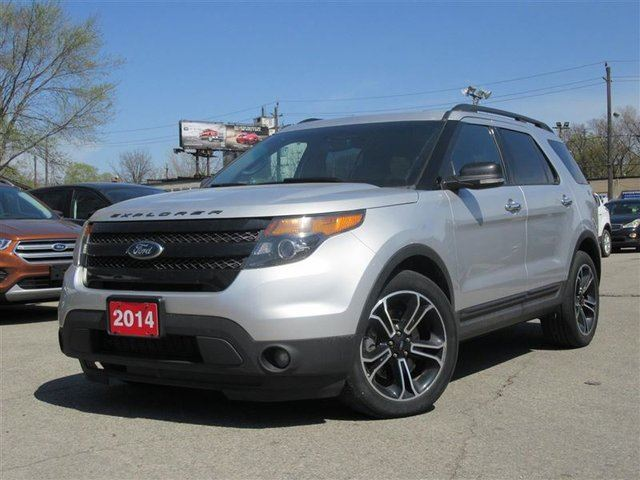 2014 Ford Explorer Sport NAV DUAL ROOF LEATHER ADP CRUISE in Toronto, Ontario