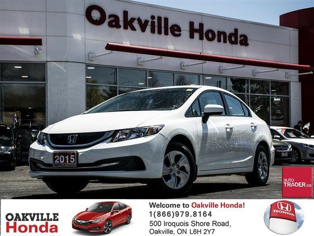 2015 HONDA Civic Sedan LX CVT in Oakville, Ontario