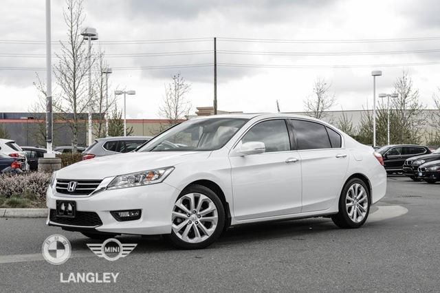 used 2015 honda accord sedan v6 cy touring langley