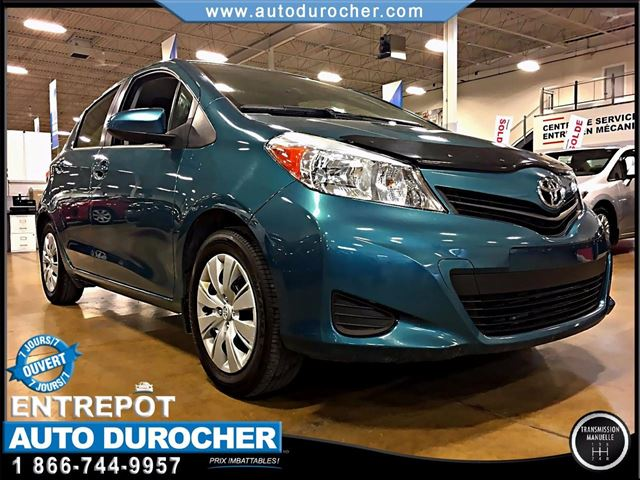 2012 Toyota Yaris LE- HATCHBACK - AIR CLIMATISn++ in Laval, Quebec