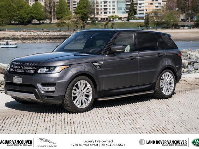 2016 LAND ROVER RANGE ROVER Sport V6 HSE (2016.5) in Vancouver, British Columbia
