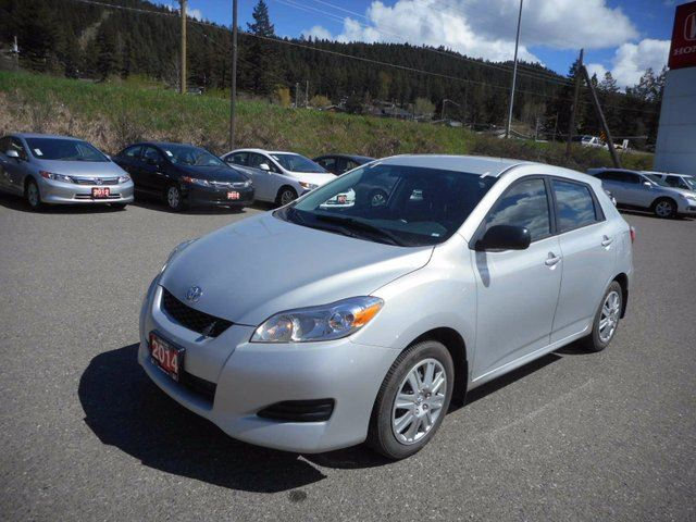 2014 TOYOTA MATRIX Base in Williams Lake, British Columbia