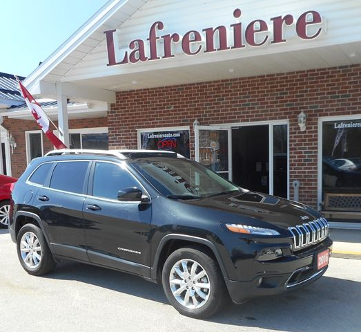 2016 Jeep Cherokee Limited in Stayner, Ontario