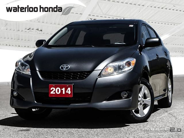2014 TOYOTA MATRIX Base Sold Pending Delivery...One Owner. Automatic, A/C and More! in Waterloo, Ontario