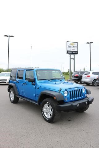 2014 JEEP WRANGLER Unlimited Sport in Cold Lake, Alberta