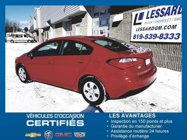 2016 Kia Forte LX in Shawinigan, Quebec