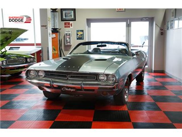 1971 Dodge Challenger Convertible  GALEN GOVIER AUTHENTICATED in Sherwood Park, Alberta