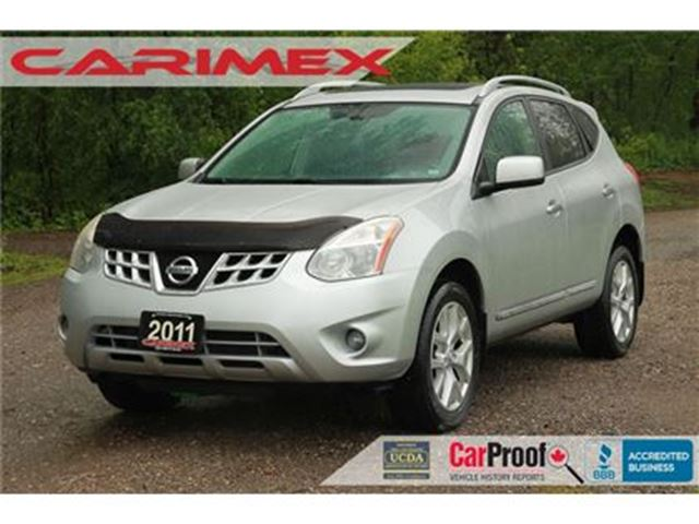 2011 NISSAN ROGUE SL   NAVI   ONLY 61K + AWD +Sunroof in Kitchener, Ontario