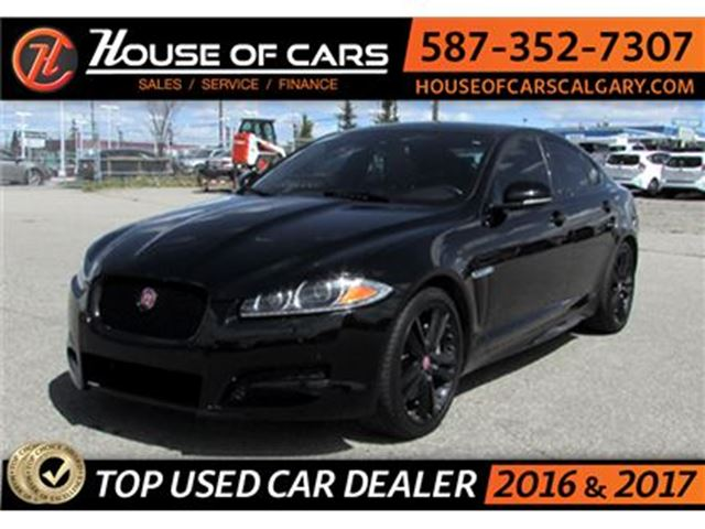 2014 JAGUAR XF 3.0L supercharged limited editon. in Calgary, Alberta