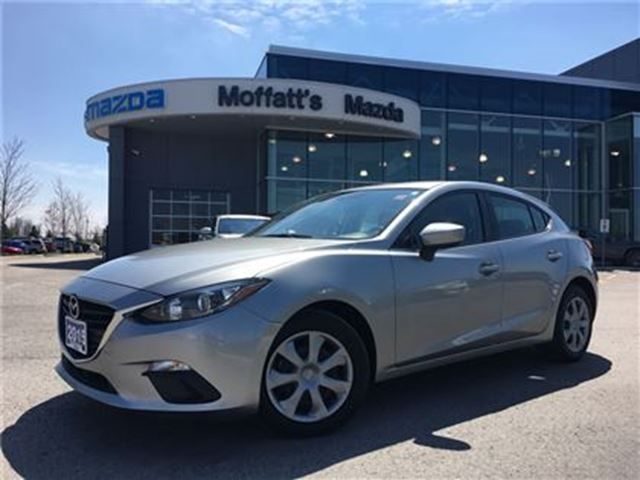 2015 Mazda MAZDA3 Sport GX SPORT BLUETOOTH, PUSH START, DISC BRAKES in Barrie, Ontario