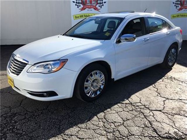 2012 CHRYSLER 200 Limited, Automatic, Navigation, Leather, Sunroof, in Burlington, Ontario