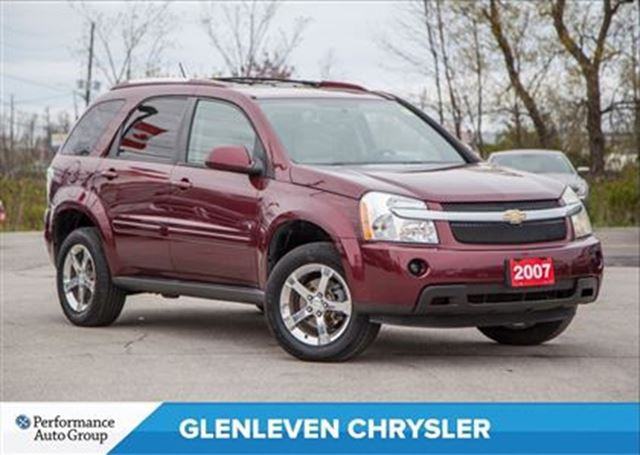 2007 CHEVROLET EQUINOX LT   LEATHER   SUNROOF   A/C   CRUISE in Oakville, Ontario