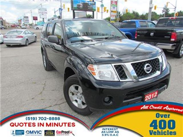 2012 NISSAN PATHFINDER S   KEYLESS   ALLOYS   7 PASSENGER in London, Ontario