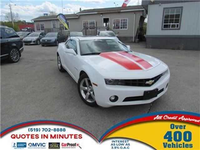 2011 Chevrolet Camaro 2LT   HEATED SEATS   LEATHER   ROOF   SAT in London, Ontario