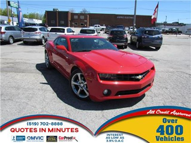 2013 Chevrolet Camaro RS PACKAGE   SUNROOF   LEATHER   SUMMER READY in London, Ontario