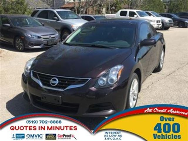 2012 NISSAN ALTIMA 2.5 S   ROOF   LEATHER   ALLOY   HEATED SEATS in London, Ontario