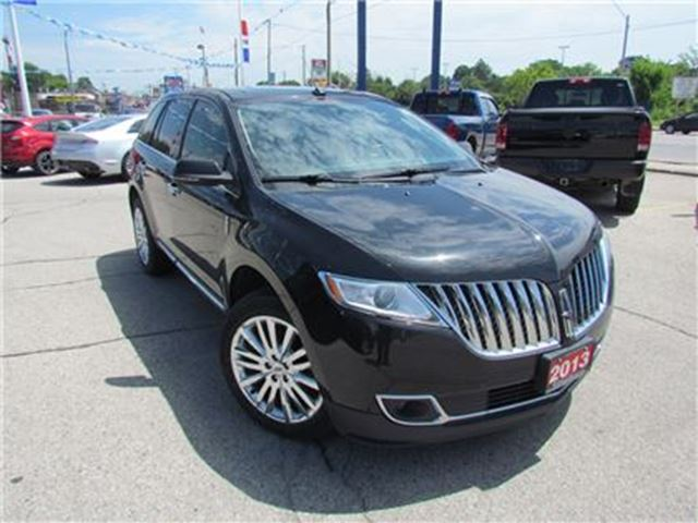 2013 LINCOLN MKX AWD   ROOF   LEATHER   NAV   HEATED SEATS in London, Ontario