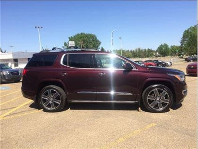 used 2017 gmc acadia v6 cy denali wetaskiwin. Black Bedroom Furniture Sets. Home Design Ideas