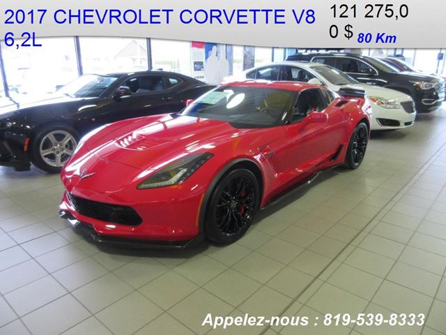 2017 Chevrolet Corvette Z06 2LZ in Shawinigan, Quebec