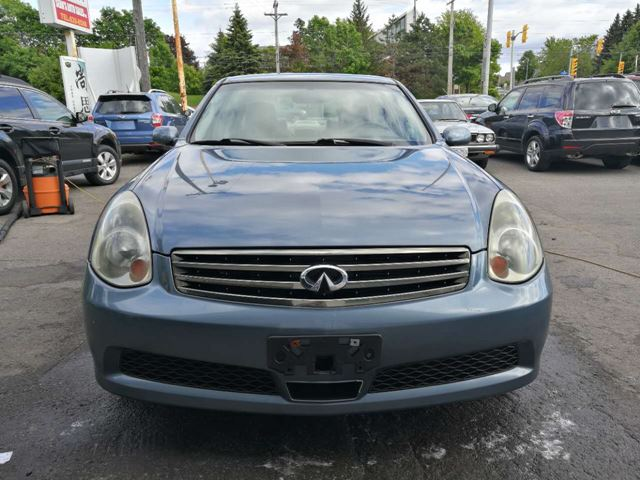 2006 Infiniti G35 AWD Luxury LEATHER SUNROOF in Ottawa, Ontario