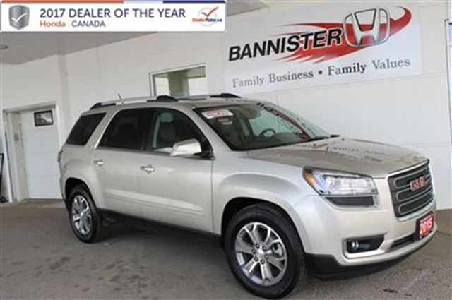2015 GMC ACADIA SLT in Vernon, British Columbia
