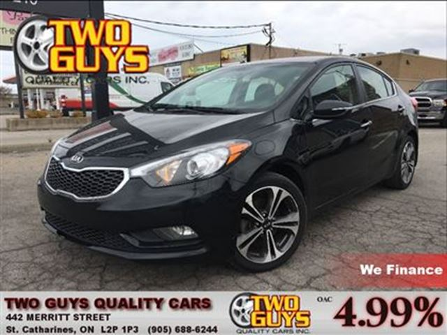 2014 KIA FORTE 2.0L EX BACK UP CAMERA BIG MAGS in St Catharines, Ontario