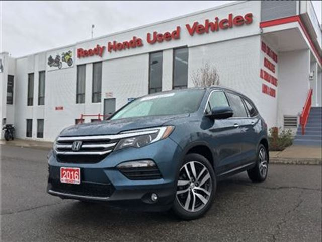 2016 Honda Pilot Touring - Navigation - Leather - Pano Roof in Mississauga, Ontario